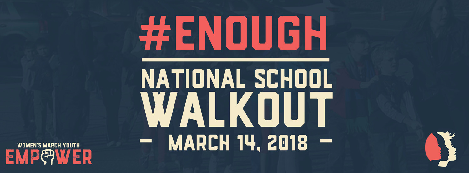 Women's Youth Empower is organizing Wednesday's global walkout, seeking stricter gun controls in the wake of the mass shooting at Marjory Stoneman High School in Parkland, Fla., on Feb. 14.