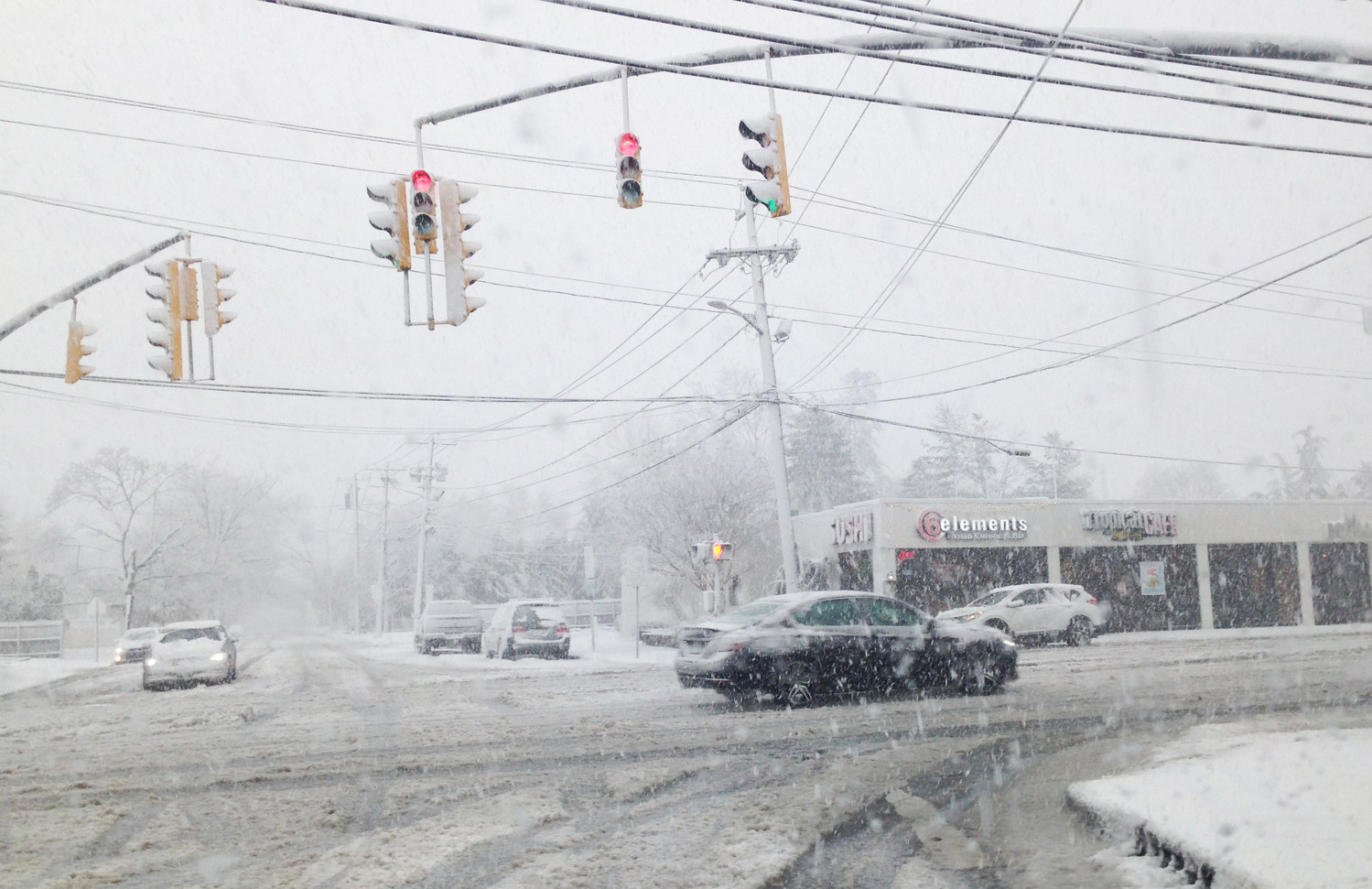 For the fourth time in March, the National Weather Service was predicting that a nor'easter would blow into the Long Island Region. This one was expected to hit Wednesday. Above, a view of Merrick Road in Merrick during the March 7 nor'easter, which dropped four to six inches of snow across Nassau County.