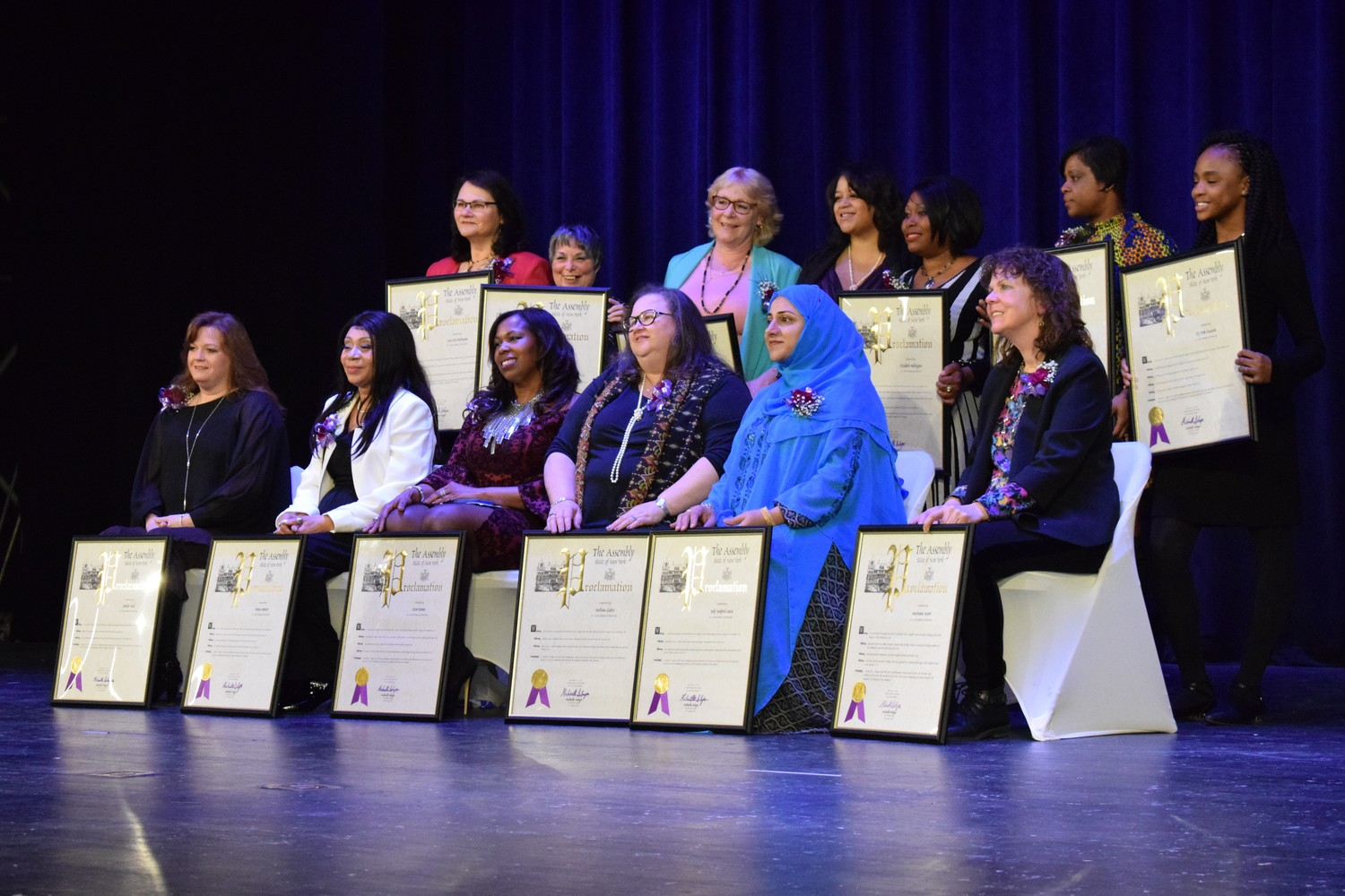 "Thirteen local women were honored at the ""Women of Distinction Ceremony: Embracing our Power,"" on March 11."