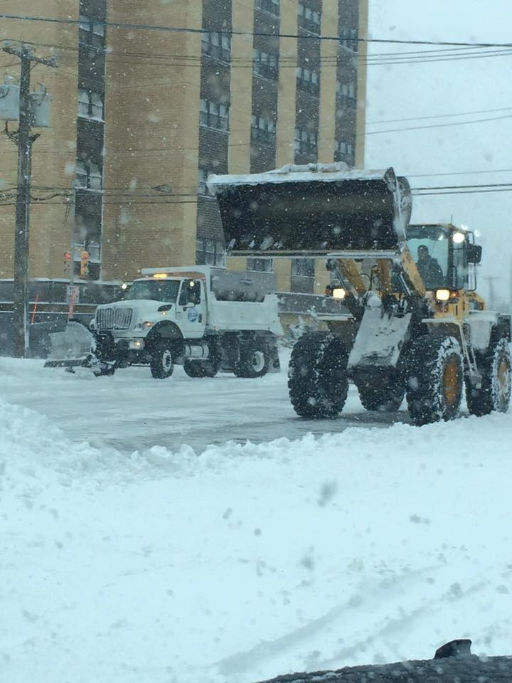 Department of Public Works crews are preparing to clear roads and respond to the storm.