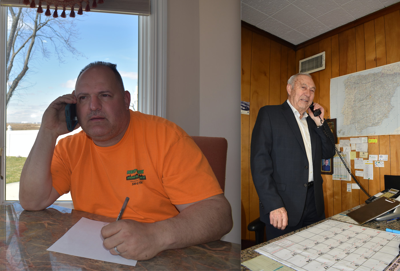 David Hance, left, and Mario Giuseppe Romanelli, will be honored at the Inwod Civic Association dinner on March 24.