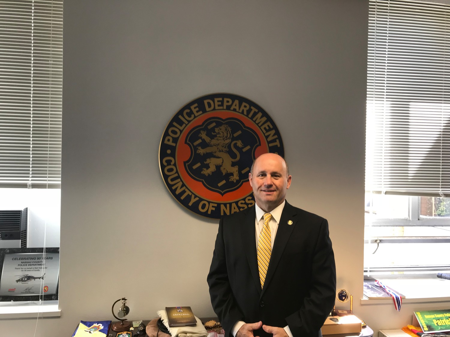 Nassau County Police Commissioner Patrick Ryder is one of the 30 members of the Nassau County School and Community Safety Task Force.