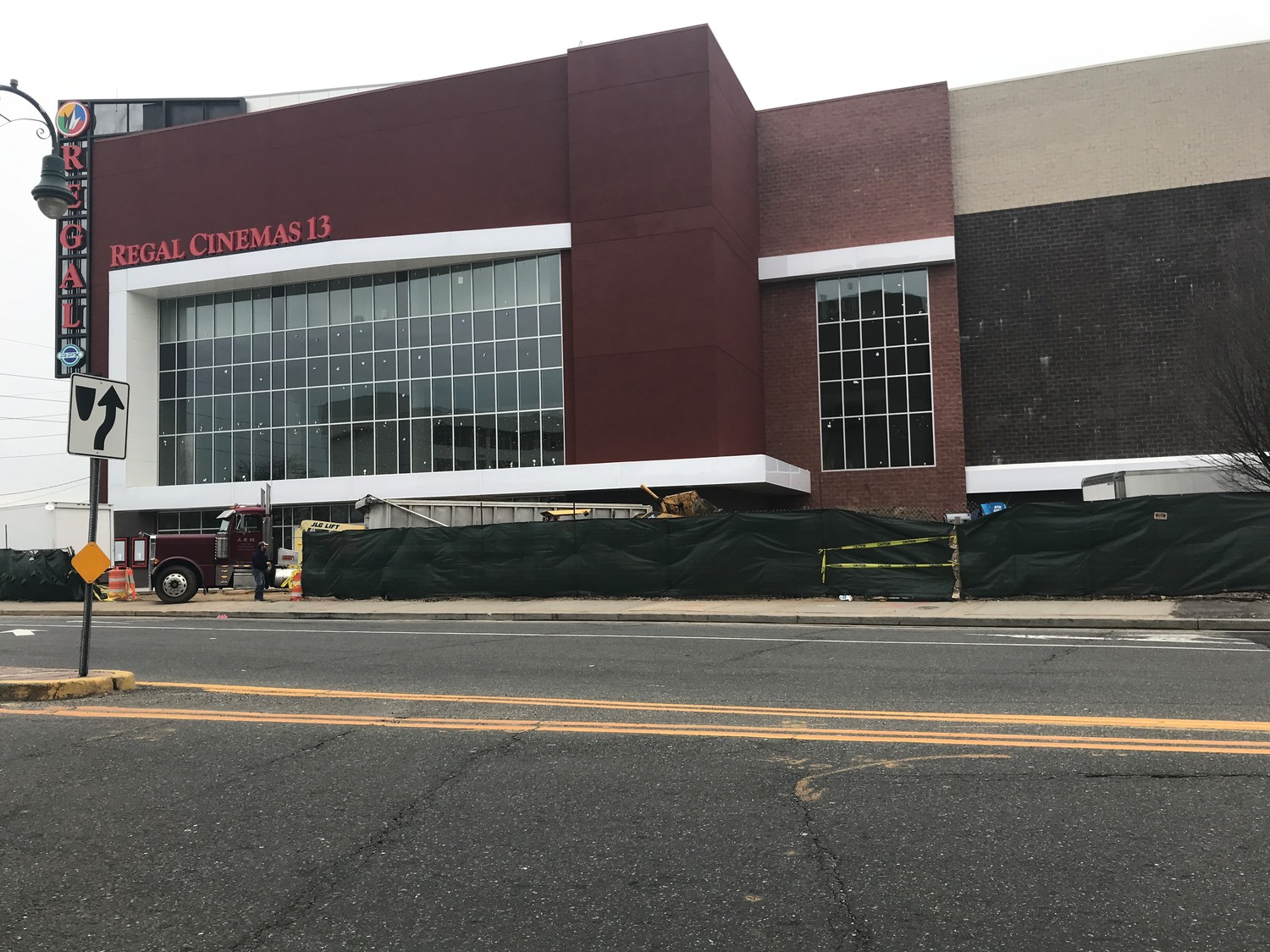 Issues with the standpipe system could push the opening of Lynbrook's Regal movie theater beyond the scheduled date of April 24.
