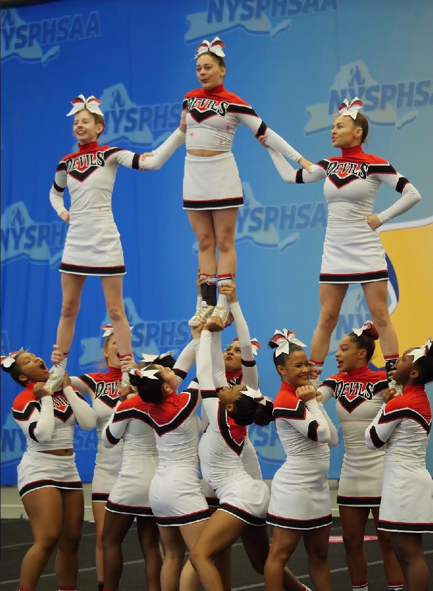 Cheer Squad Leaps To A Top U S Ranking Herald Community