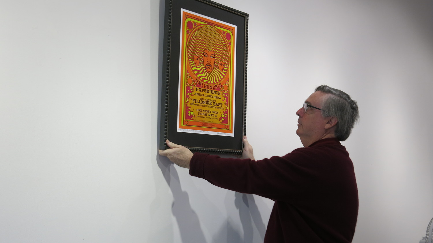Ted Bahr, the owner of Oyster Bay's Bahr Gallery, has all kinds of psy-