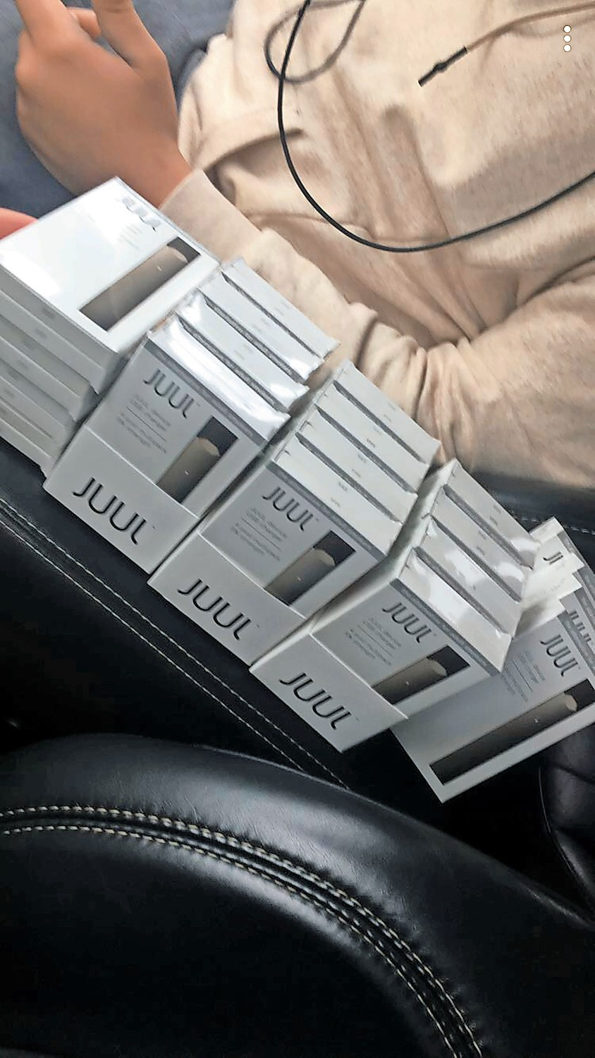 Vaping products are common among students locally and nationwide. The San Francisco-based company Juul produces the most used devices.
