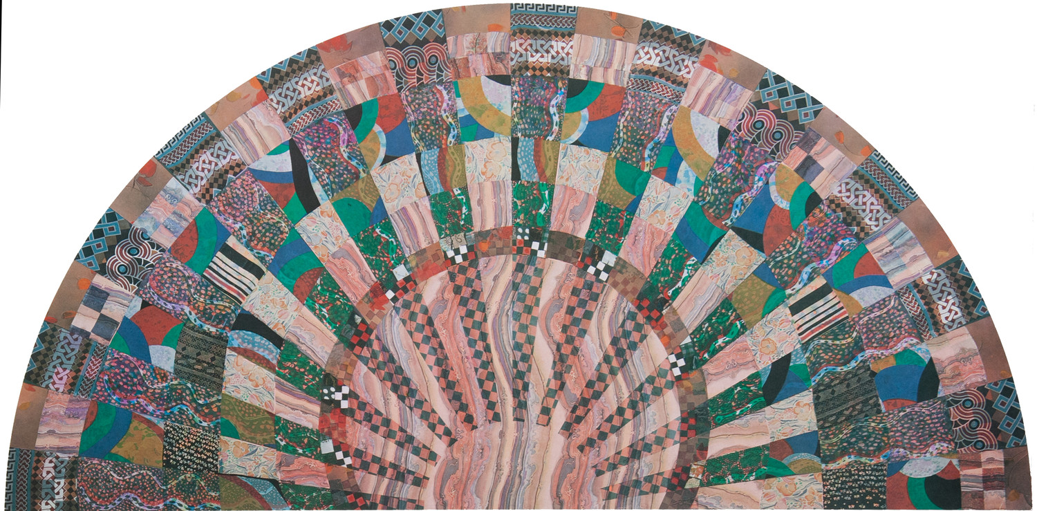 "Miriam Schapiro's ""The Fan,"" 1979."
