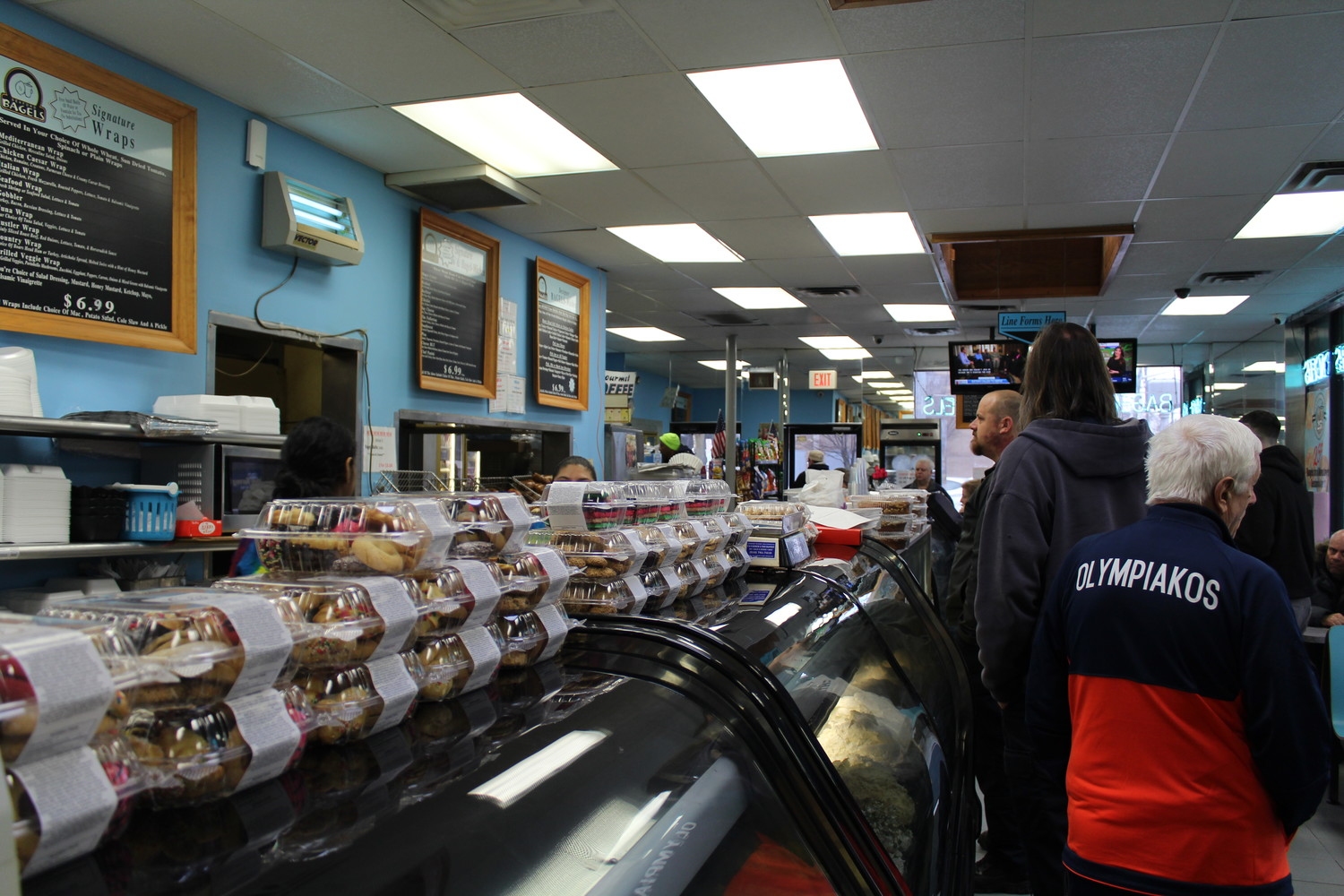 On average, Seaford Bagels sells about 48,000 bagels a week to customers from Seaford and the surrounding hamlets.