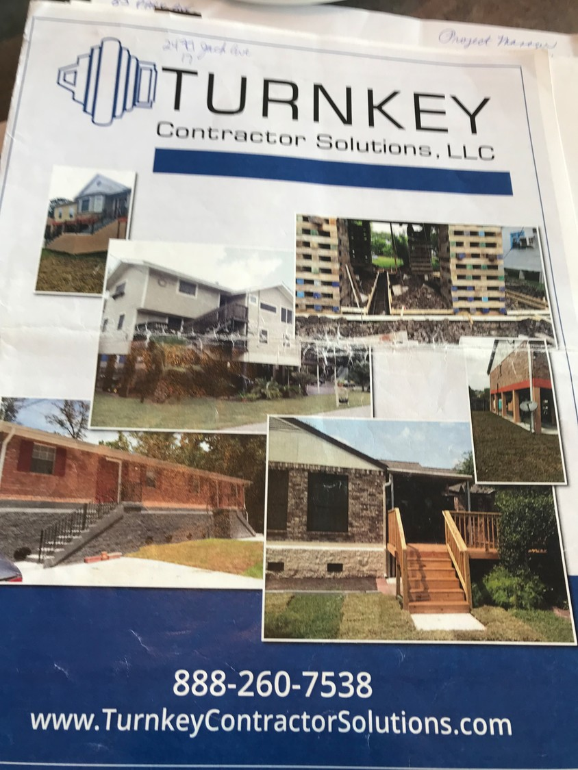 The brochure of the company Ron and Maryann Daly signed a contract with in July 2017, which has since closed its Long Island offices.
