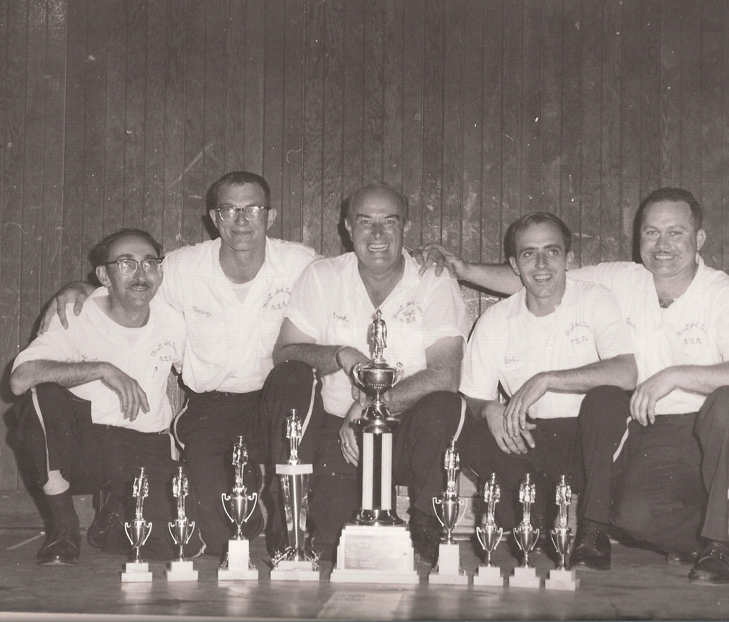 Oceanside's first aid team were the winners of a rescue championship in the 1960s.