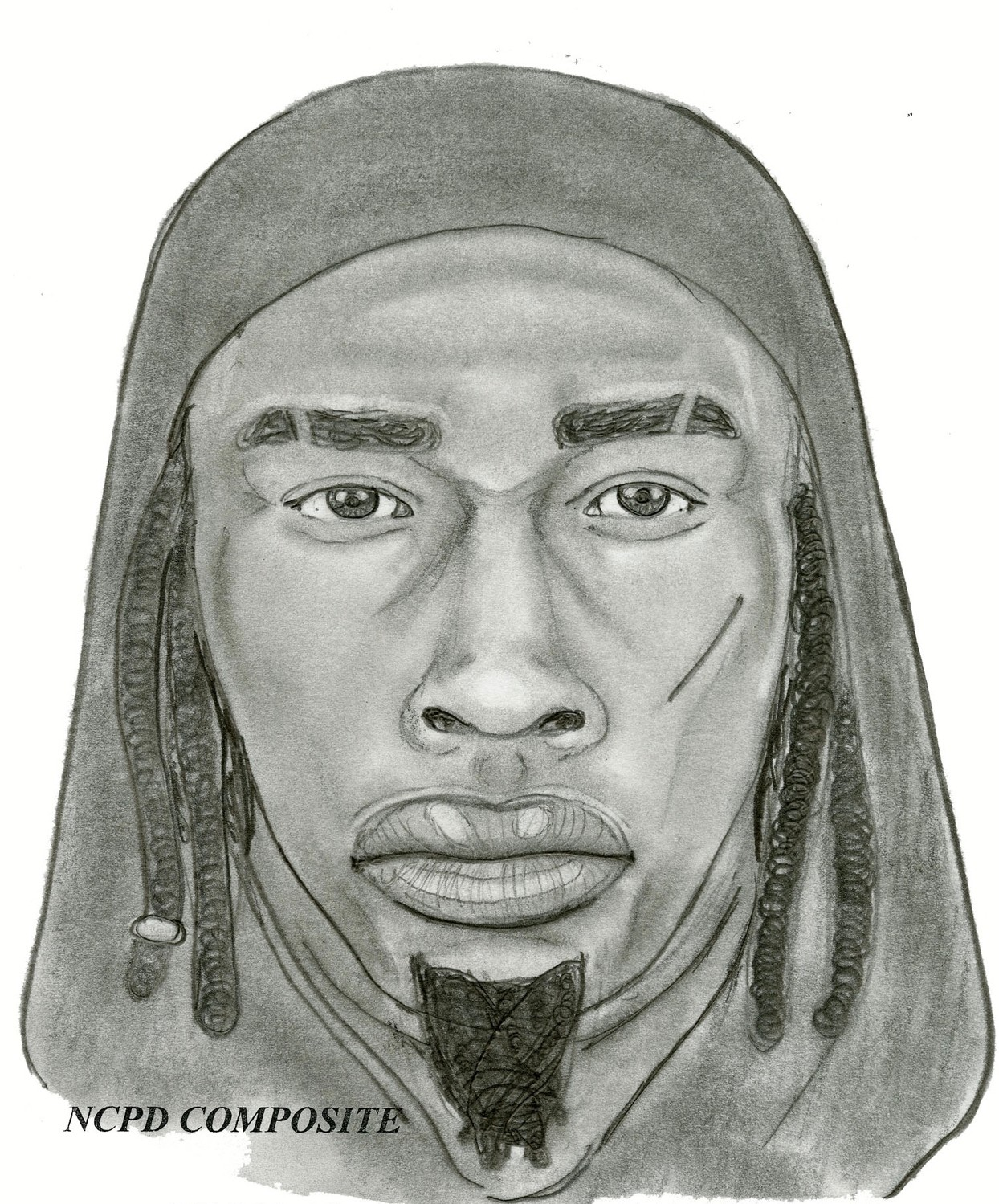 This police sketch shows the man who allegedly stalked a 10-year-old girl last week near a Rockville Centre bus stop.