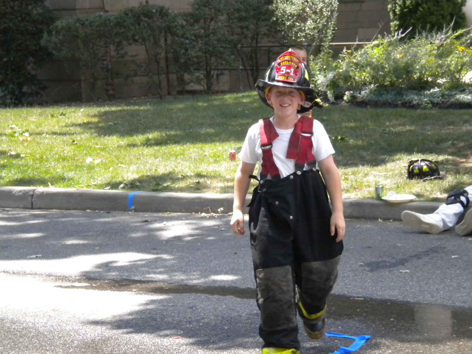 This Fire Explorer could have used some smaller britches.