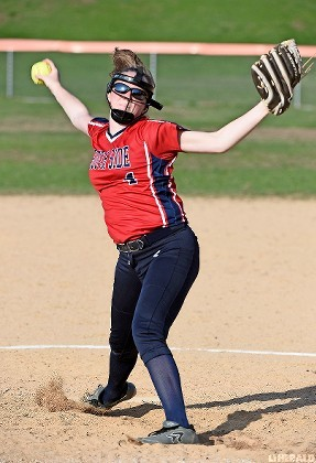 Morgan Gilligan did it all for South Side in last Friday's 14-0 win at Glen Cove, tossing a two-hitter with 10 strikeouts and belting a couple of homers.