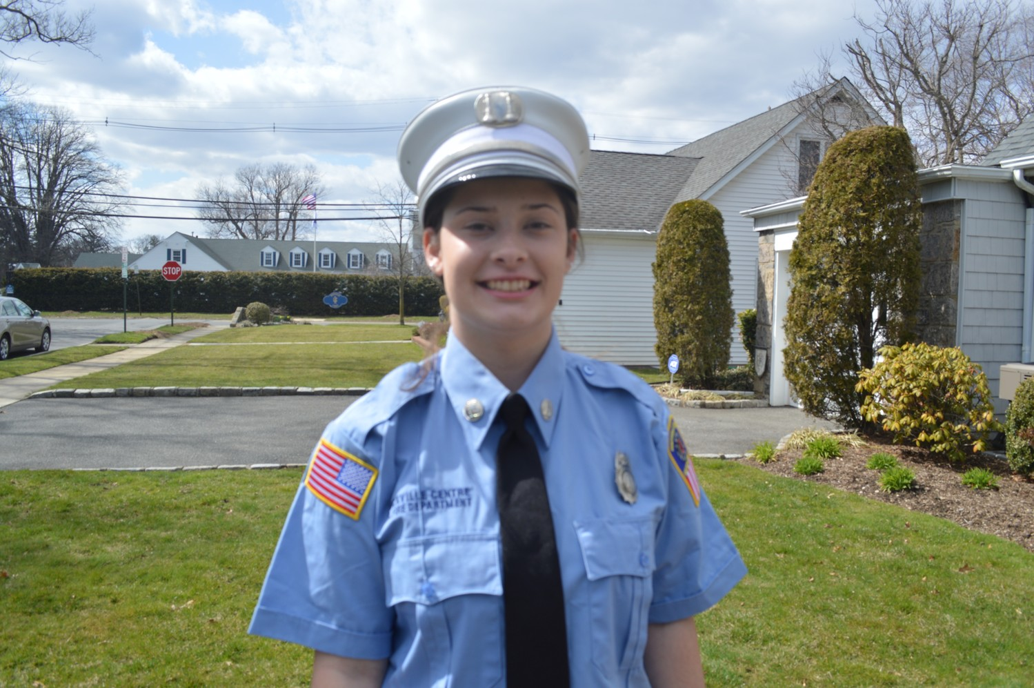 As captain of the Rockville Centre Junior Department, Erika Brancato is in charge of keeping members interested enough to transition to full-fledged firefighters.
