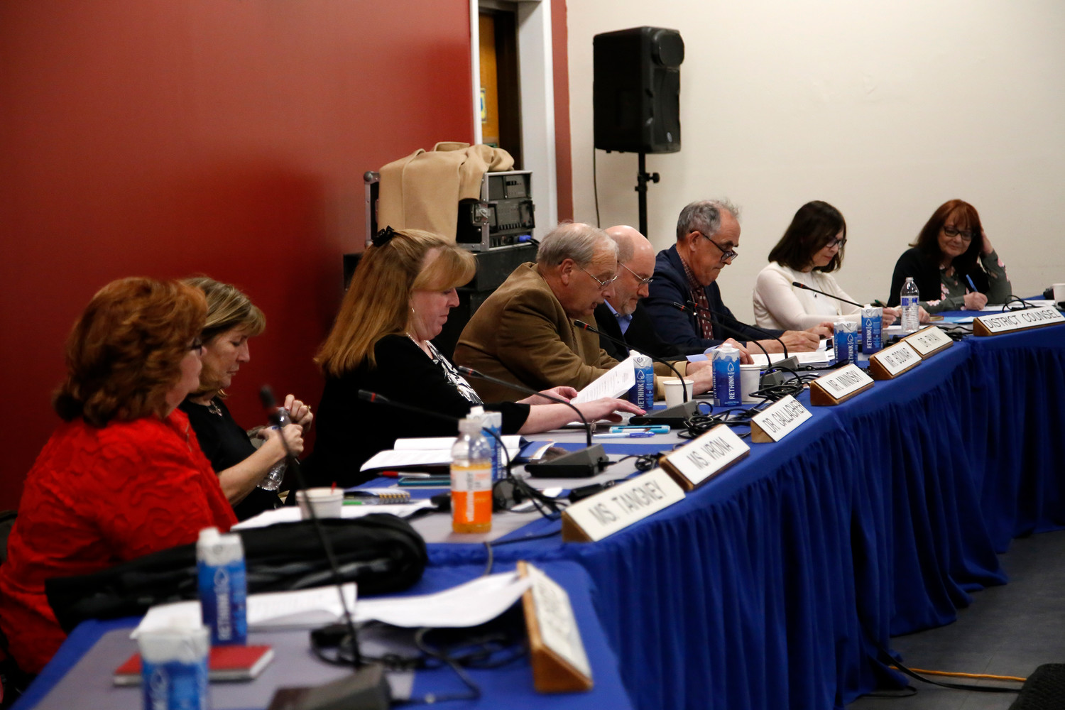 The Long Beach school board adopted next year's budget of about $140 million on April 12.