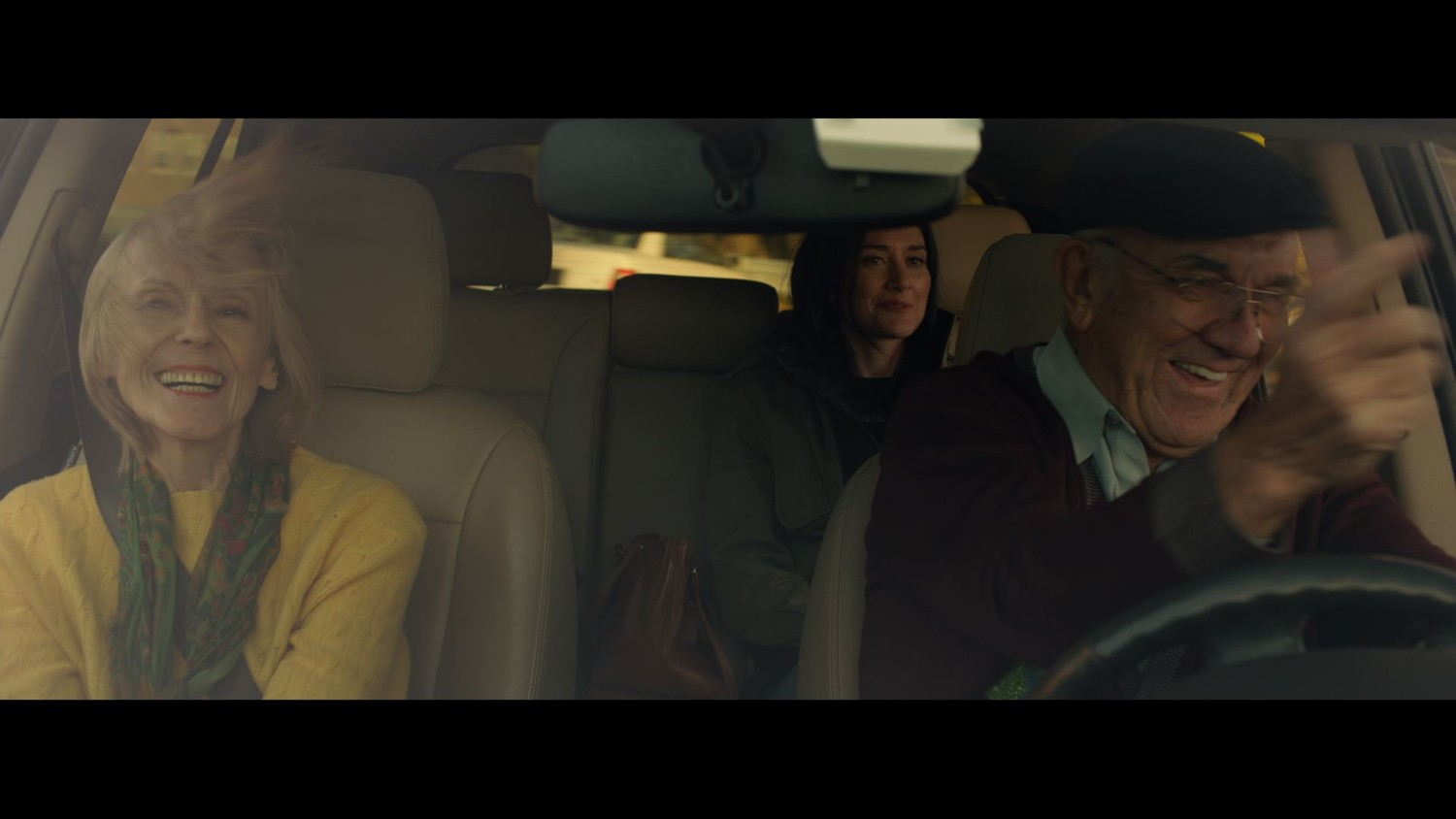 "A devoted daughter must take her parents to an assisted living facility in ""The Drive."""