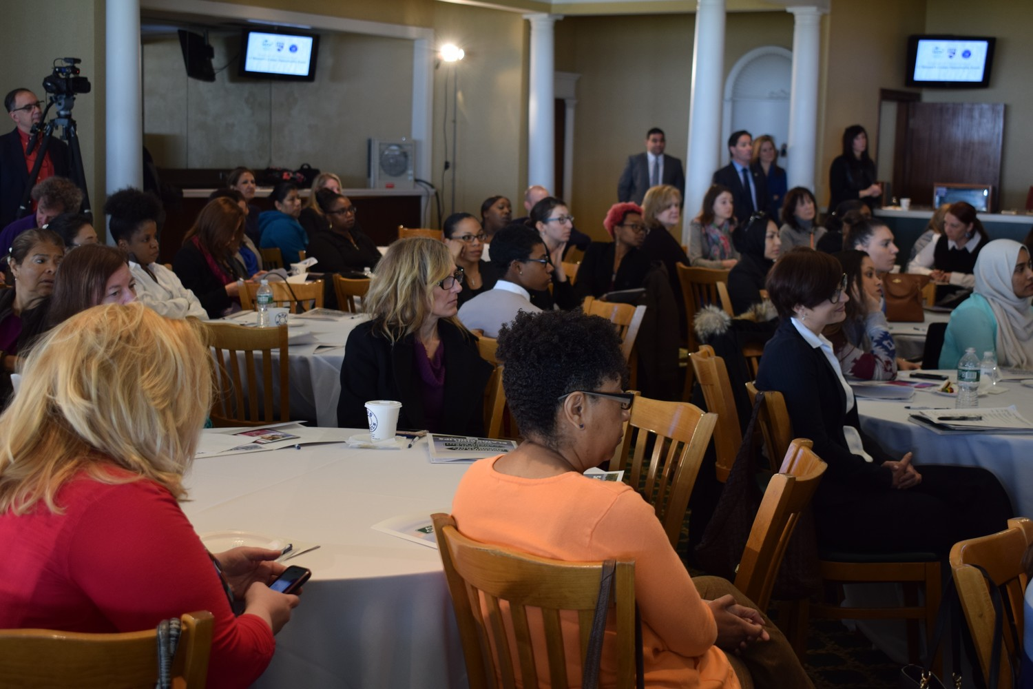 State Sen. Elaine Philips invited female leaders in Long Island's workforce to share their stories and tips for success.