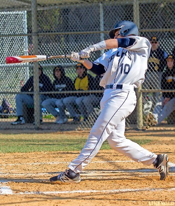 Senior Dylan Judd helped lead the Sailors to a sweep of Massapequa last week, going 5-for-7 with a homer and six RBIs in the first two games.
