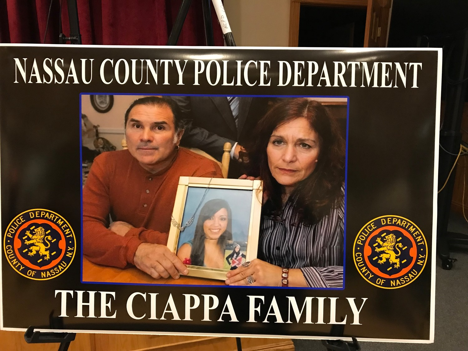 Natalie Ciappa's parents hold a photo of their teenage daughter Natalie who died from a heroin overdose at a Seaford home during a party in 2008. Today, nassau officials named their aggressive campaign against the opioid epidemic: Operation Natalie