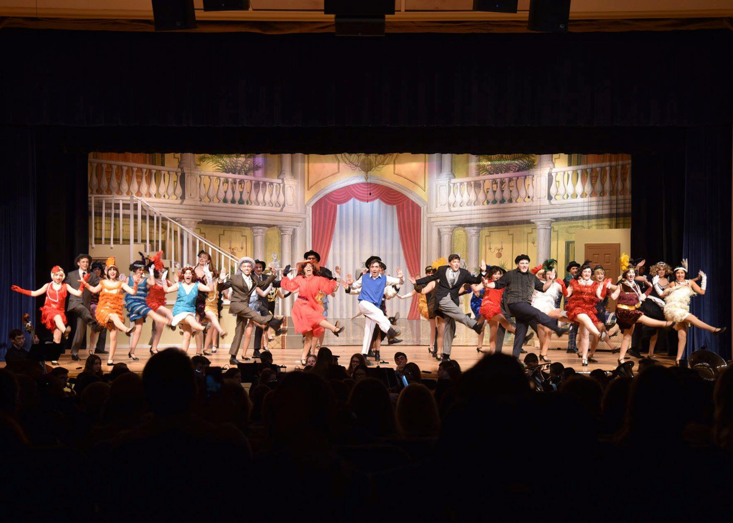 "The show stopping tap dance number, ""Fascinating Rhythm,"" performed by the entire company."