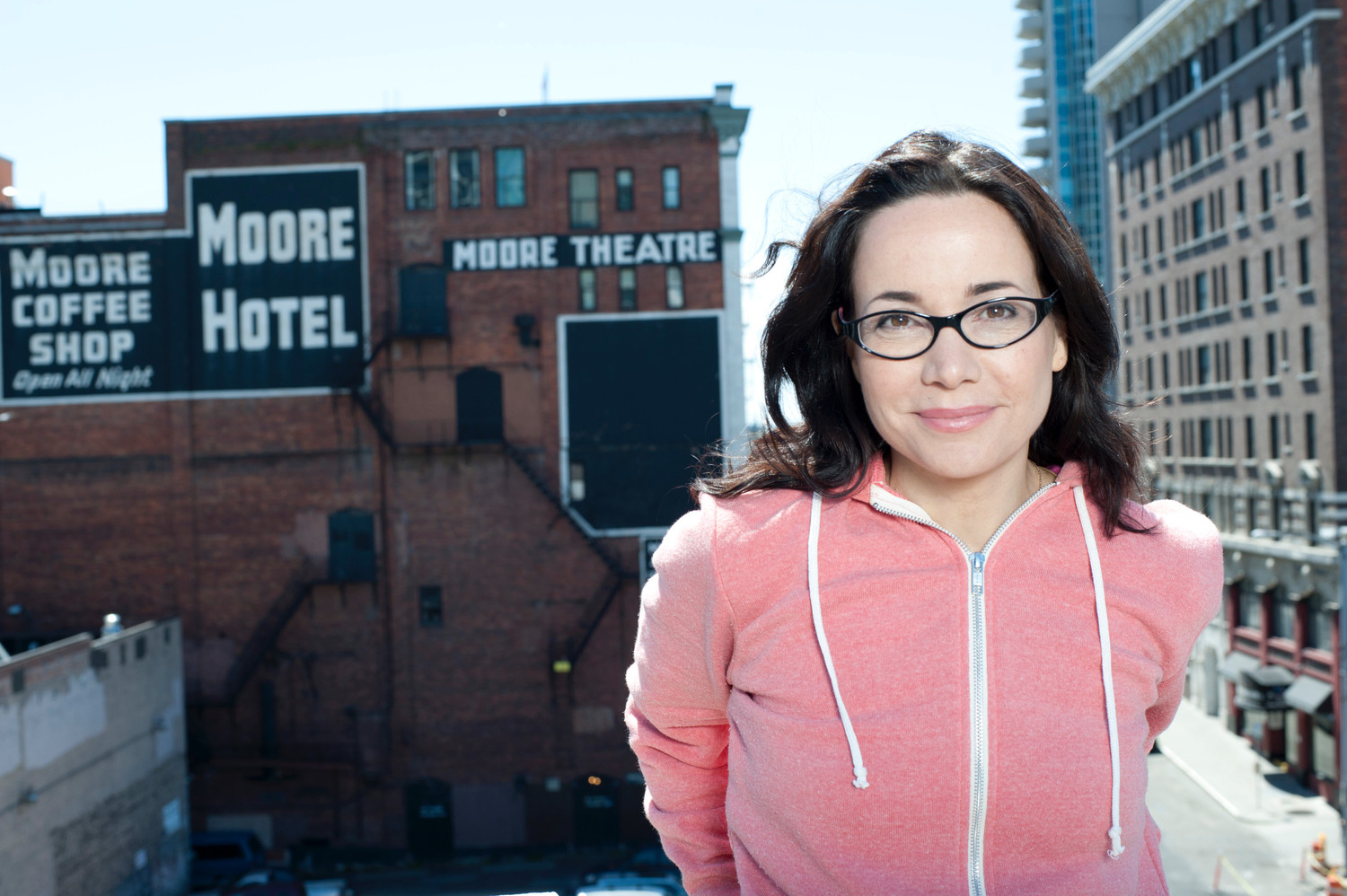 Janeane Garofalo brings is back on Long Island once again ready to speak her mind.