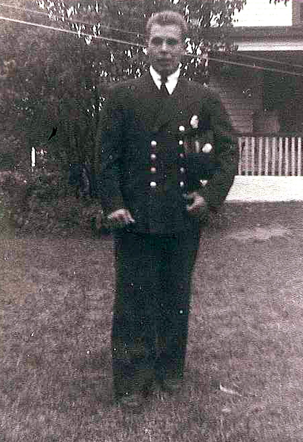 Roth, pictured here at 19, joined the Seaford FD on Oct. 1, 1948.