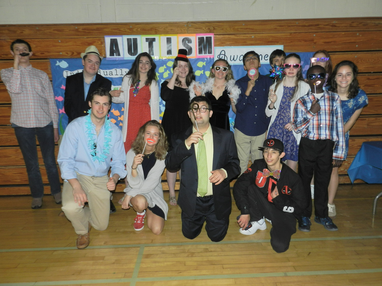 North Shore High School students gathered in the gym last Friday night for the first-ever Dance for Autism Awareness.