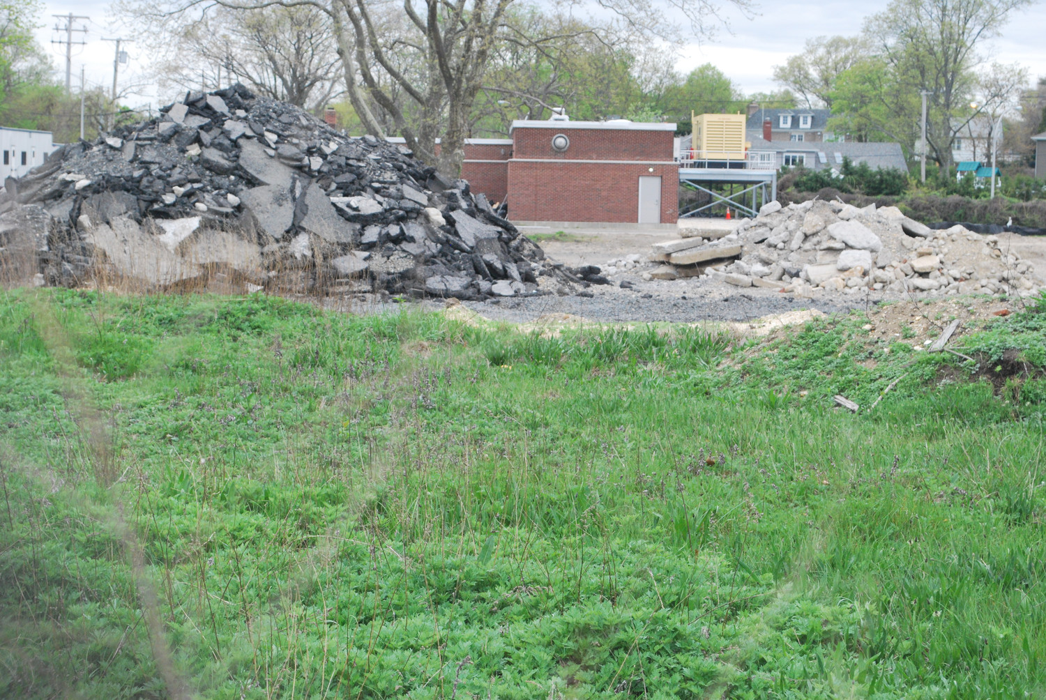 Village of Lawrence officials will put a request for expressions of interest to help them decide what could be done with the sewage treatment plant land.
