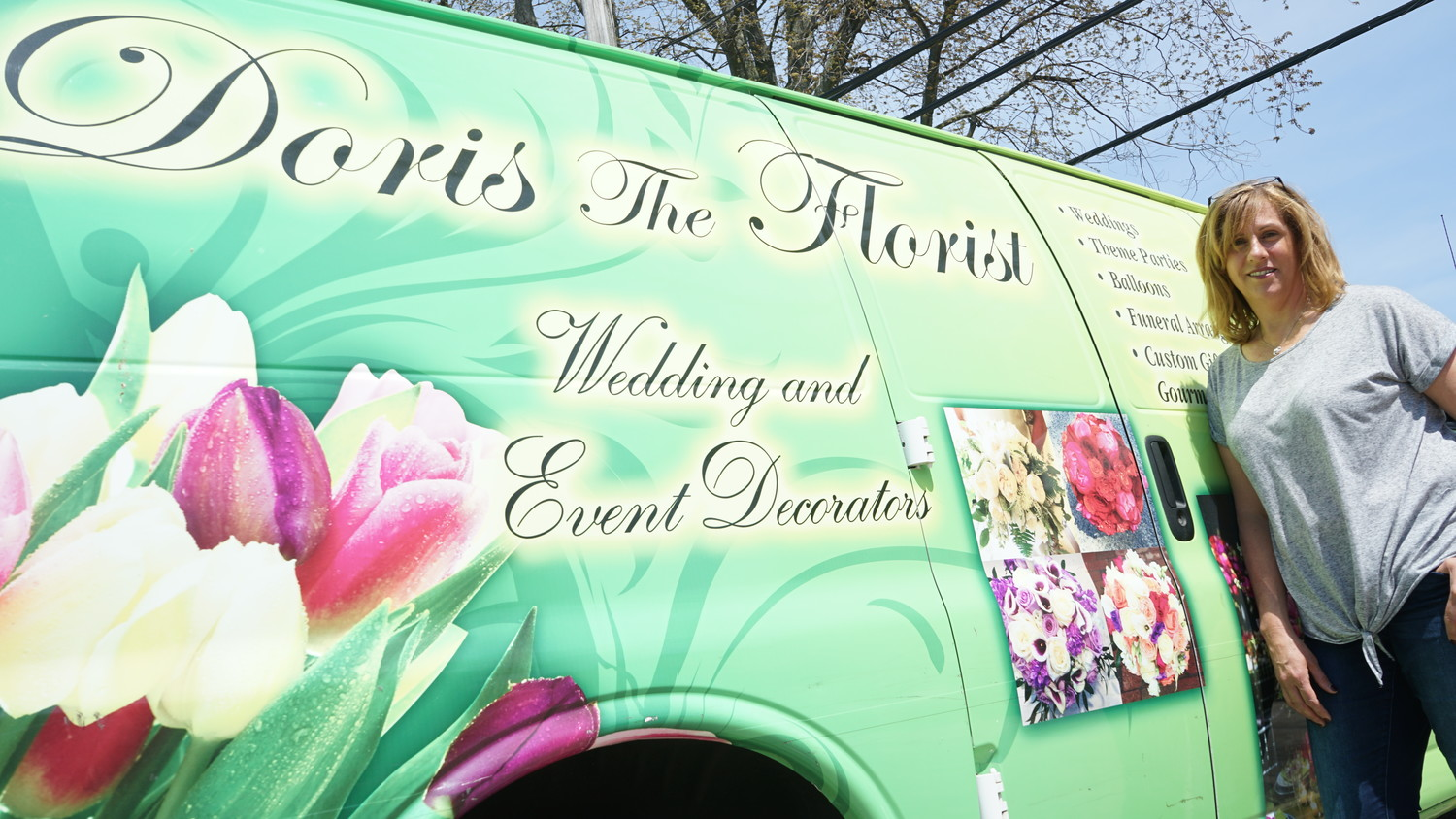 Doris Gralitzer has 34 years experience in the florist industry and has been in business in Island Park for 11 years.