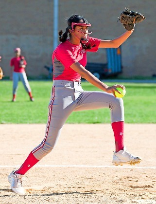 Sophomore Isabella Secaira-Cotto struck out 270 batters this spring while helping the Lady Falcons capture a conference title and earn a playoff spot.