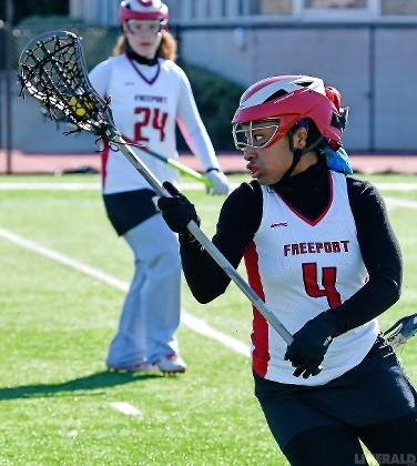 Senior Nia Merritt scored five goals, including the winner late in the second half, to lead the Lady Devils to a 13-12 win over Roslyn in the season finale on May 4.