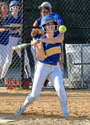 Senior Rachel Kendal was a three-year starter at second base and a productive hitter this spring for the Lady Golden Tornadoes, who finished 9-6.