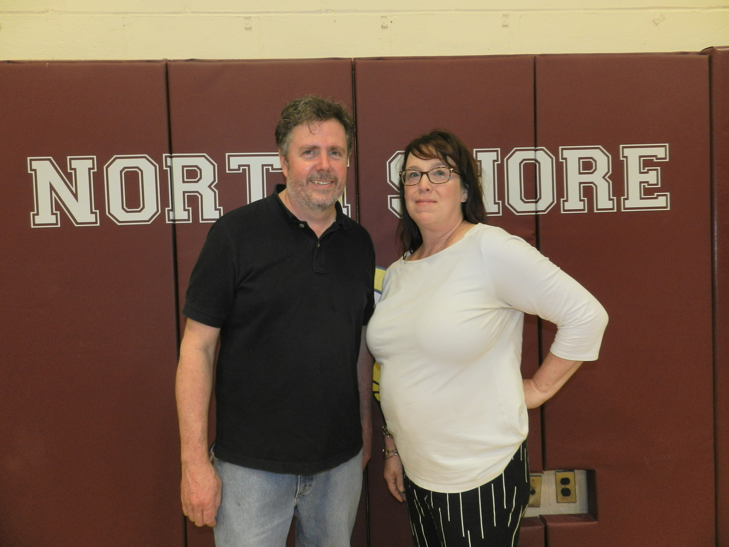 Tim Madden, of Sea Cliff, and Lisa Vizza, of Glen Head, were the winning candidates for the North Shore Board of Education's trustee election.