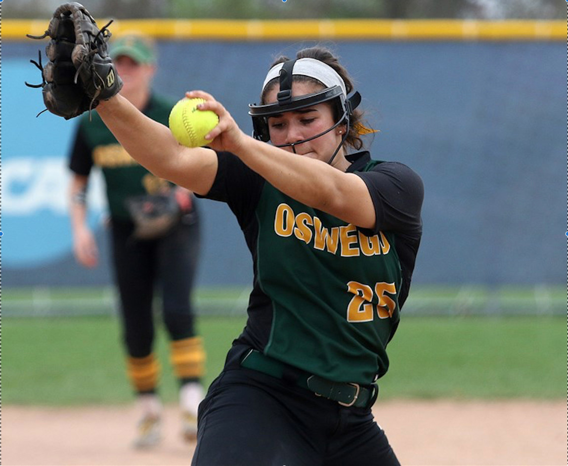 Oswego State sophomore and H. Frank Carey alumna Rebecca Vilchez winds up in SUNY Athletic Conference play.