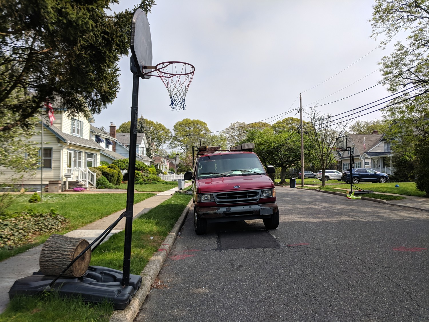 Rockville Centre residents can now legally put up their basketball hoops and play in the street.