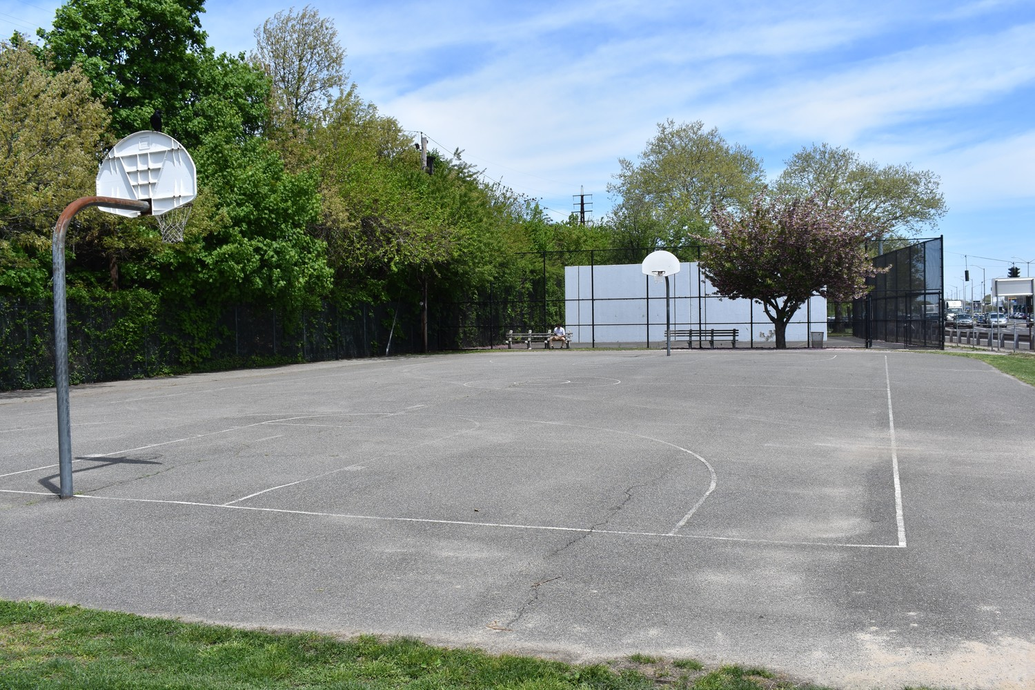 The playground would replace the basketball and handball courts that currently occupy the space.