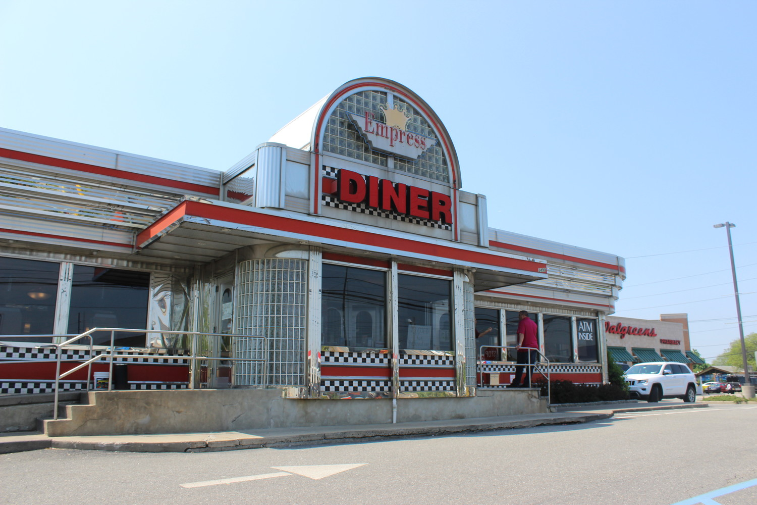 The Empress Diner is temporarily closed for renovations as its new owners prepare to take over.