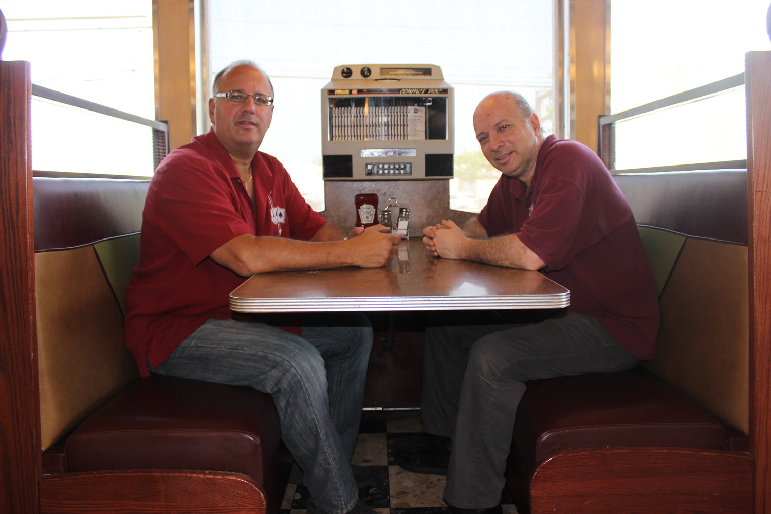 Mike Panagatos, 58, of East Meadow, right, and his brother Dan, 56, have owned the Empress Diner for roughly 30 years. Their father, Sam, purchased it in 1967.