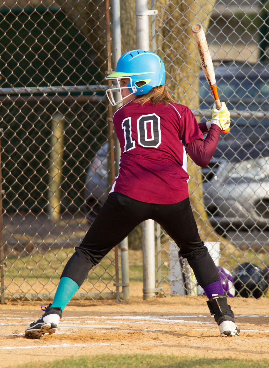 Junior Taylor Berry had a 4-for-4 performance April 21, homering, scoring four runs and driving in three to lead the Lady Vikings to a 16-10 win over Jericho.