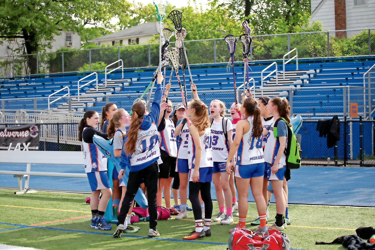 Hundreds of lacrosse players took part in the 11th annual Malverne Lax Day on Sunday, hosted by the Malverne Mohawks Lacrosse Club.