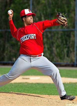 Ronny Vicente was a consistent part of Freeport's pitching staff this spring as the Red Devils made history with a taste of playoff success.
