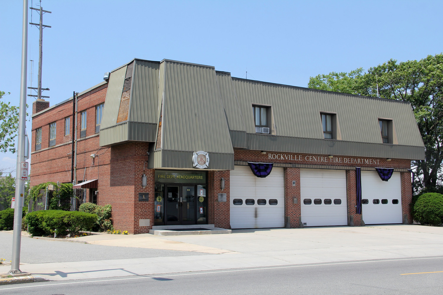 Though Floodlight Rescue Company No. 1 is an independent company, it operates out of the Rockville Centre Fire Department's headquarters on North Centre Avenue.
