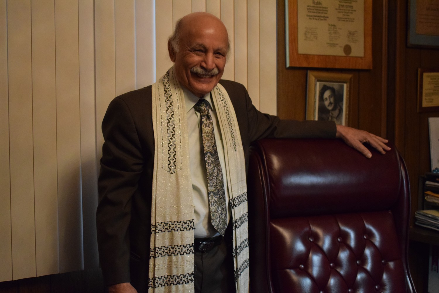Rabbi Samuel Kehati is the spiritual leader of Temple B'Nai Israel of Elmont.