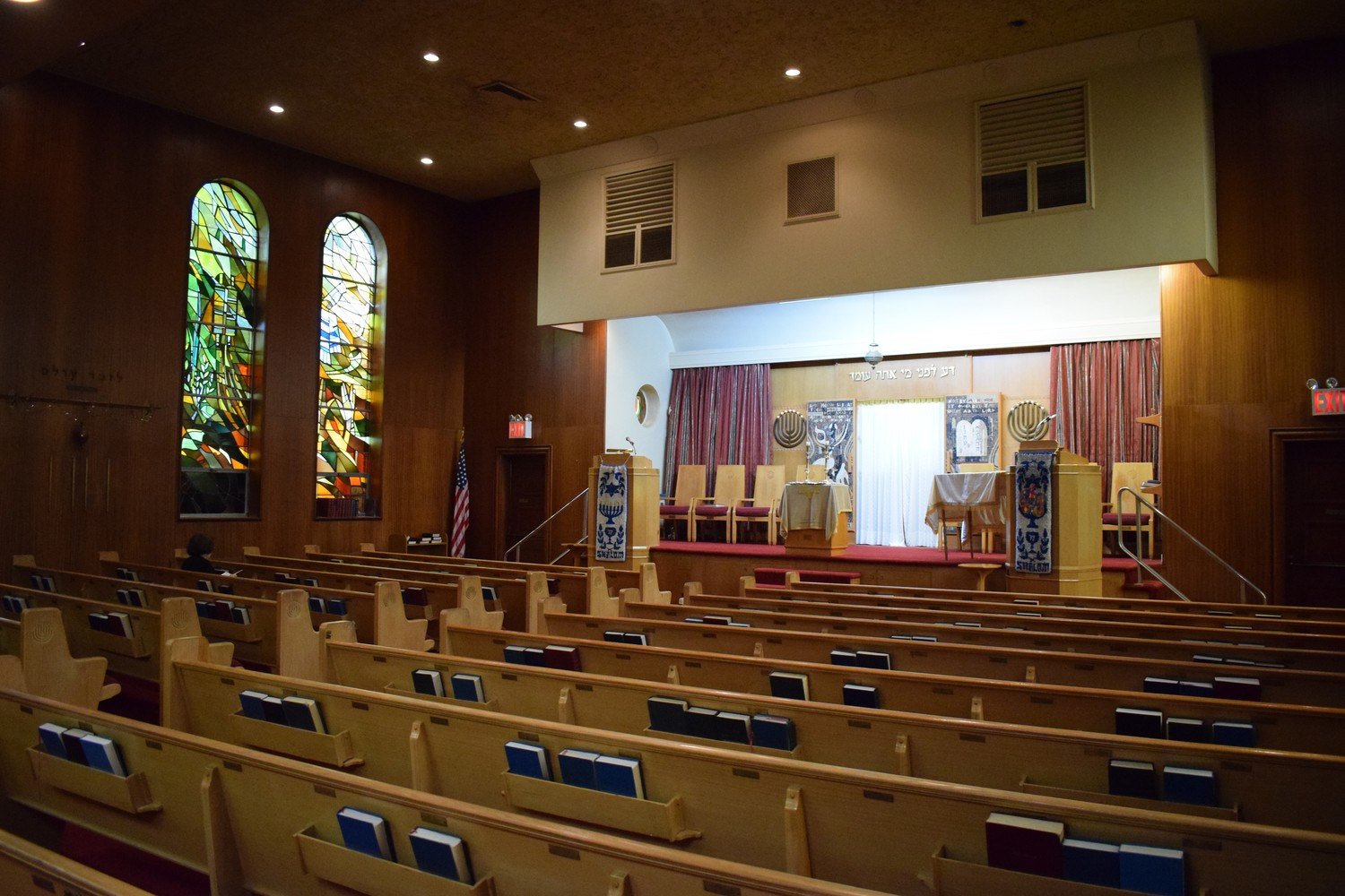 Temple B'Nai Israel used to serve more than 600 families in Elmont. Now it only sees about 70 members.