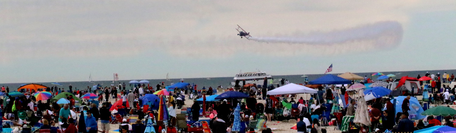 Last year, over 347,000 people attended the 14th annual Bethpage Air Show at Jones Beach State Park, according to George Gorman, deputy regional director of the New York State Office of Parks, Recreation and Historic Preservation. It is consistently the largest single weekend event at any New York state park, and one of the nation's largest air shows.