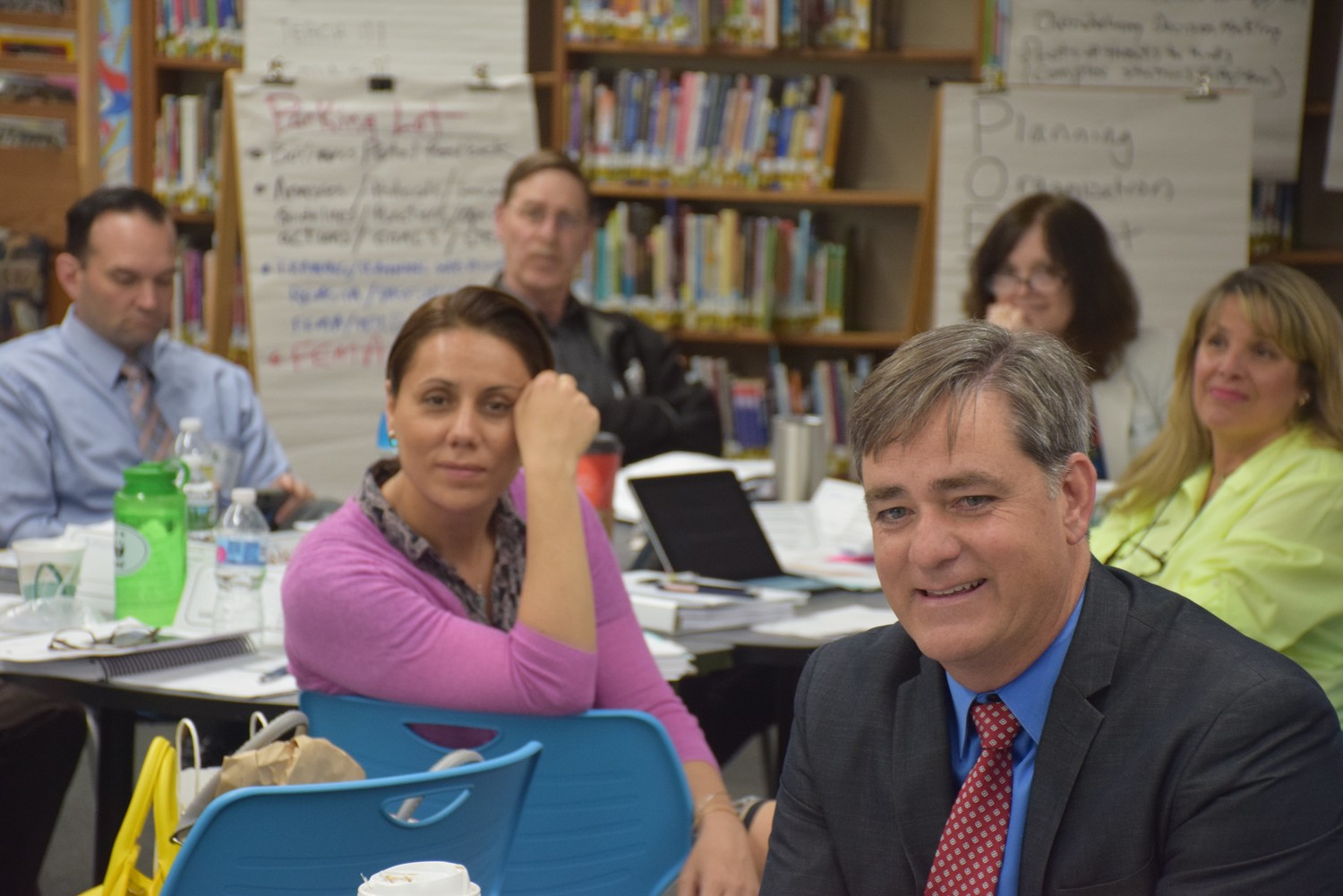 Wantagh Superintendent John McNamara and administrators gained valuable insight during the three-day seminar.