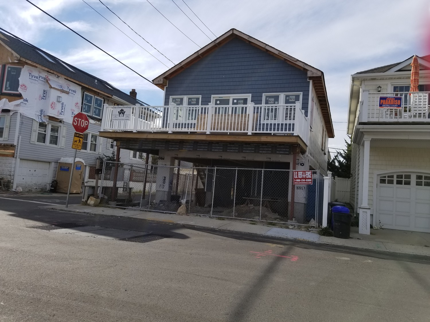 "West End resident Terri Dunbar hired contractor Fred Gutterman, of JBJ General Contracting, in 2016, who she said lifted her house, did ""a shoddy job,"" then abandoned the work and disappeared with her money. Her unfinished home is pictured above in November 2017."