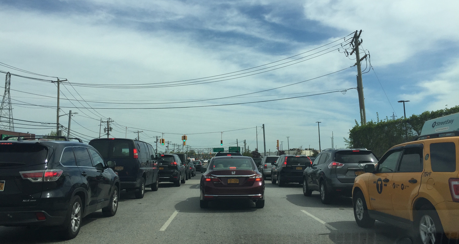 The hope is that by syncing the traffic signals and widening portions of the Nassau Expressway and Rockaway Turnpike, vehicle congestion in the area can be reduced.