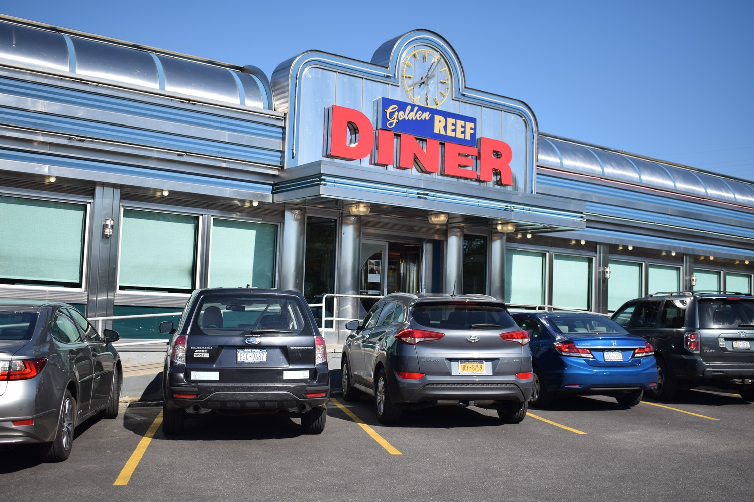Vokshi worked at The Golden Reef Diner in Rockville Centere for 24 years.