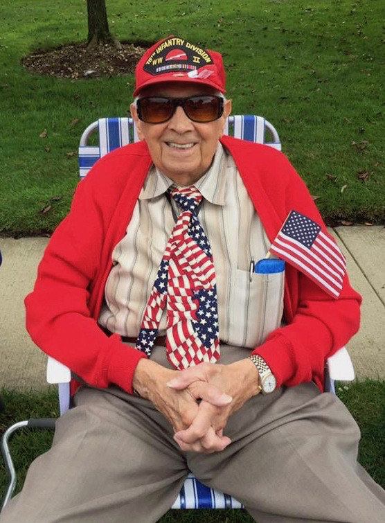 Joseph J. Lucca never missed a Wantagh Memorial Day Parade